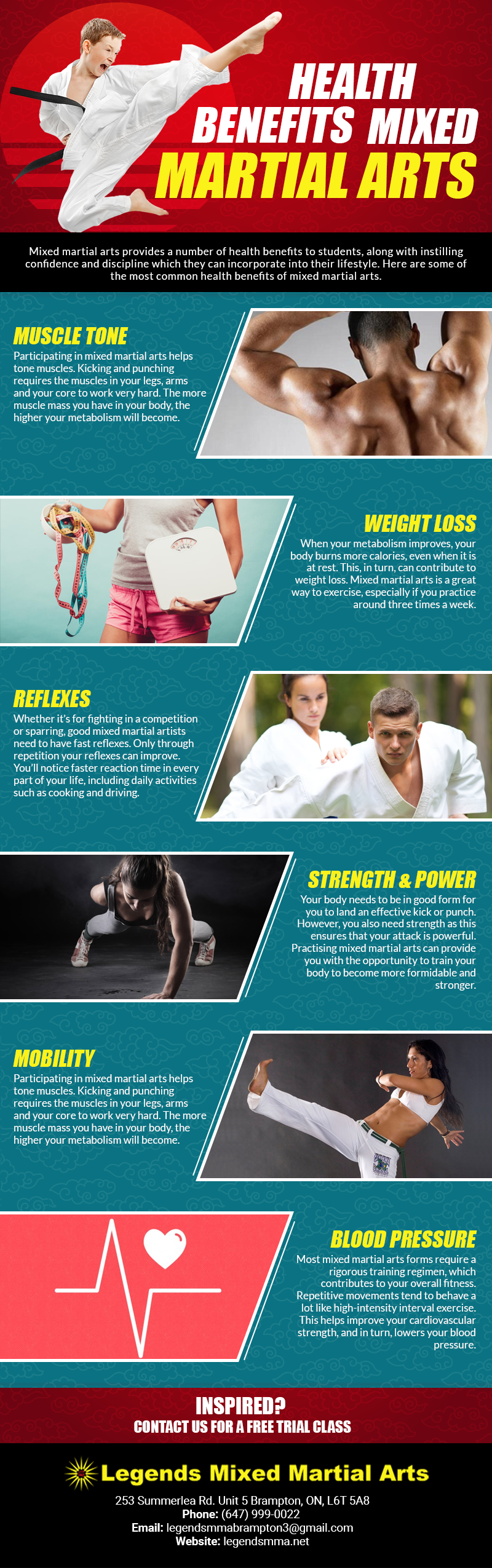 HEALTH BENEFITS OF MIXED MARTIAL ARTS