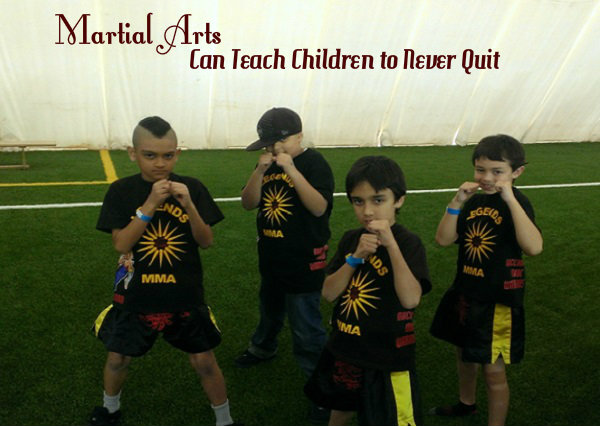 Martial Arts Can Teach Children to Never Quit