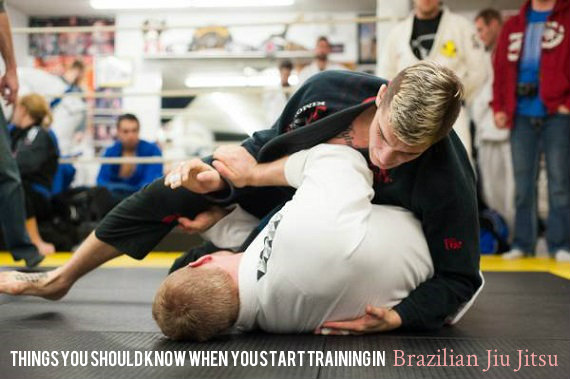 Things You Should Know When You Start Training in Brazilian Jiu Jitsu