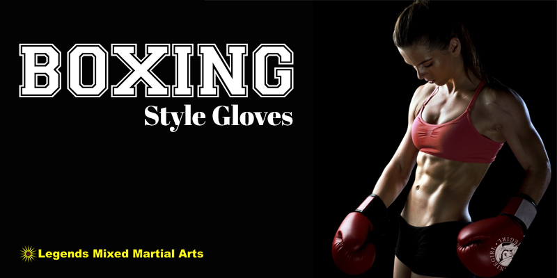 Boxing Style Gloves