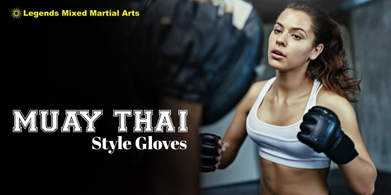 Muay Thai Style Gloves