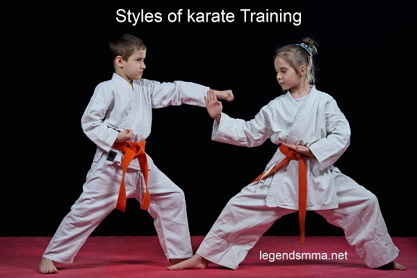 styles-karate-training