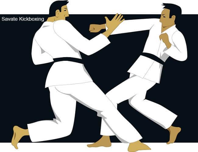 savate kickboxing