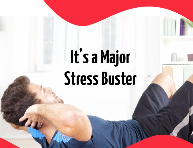 It's a Major Stress Buster